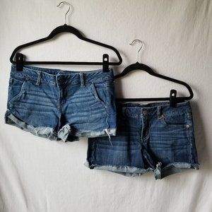 American Eagle Outfitters Jean Shorts Lot of 2
